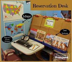 Airport Dramatic Play Center by Play to Learn Preschool