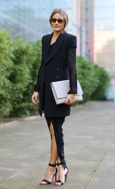 Olivia Palermo at Paris Fashion Week SS 2014