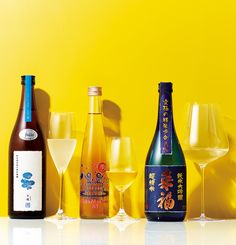 日本酒を知る3つのキーワード フード&ドリンク GQ JAPAN