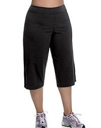 Champion Stretch-Cotton Semi-Fitted Women's Plus Knee Pants