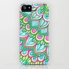 Sharpie Doodle 8 iPhone & iPod Case by Kayla Gordon - $35.00