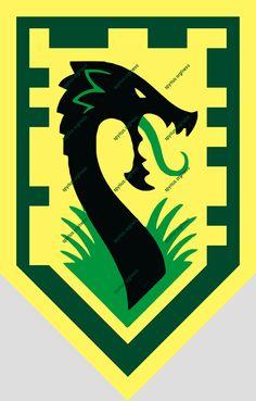 LEGO Nexo Knights Power - Aaron - Jungle Dragon |spyrius.org