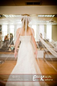 Give a frame of reference for the veil shot.