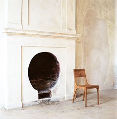 The New Victorian Ruralist: Annular Fireplaces...