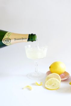 Champagne Lemon Drop Cocktail Recipe