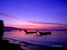 Waiara Twilight. The picture was taken at Waiara beach, Maumere - Flores Island, INDONESIA www.komodo-tours.travel/Sea_World_Club