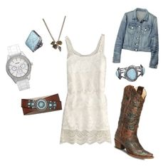 Country Casual, created by Stephanie Lindamood on #polyvore. #fashion #style American Eagle Outfitters rag & bone