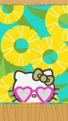 #pineapple #cutewalls #wallpaper #iphone #summer