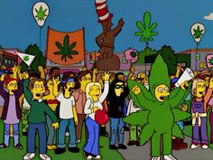 Simpsons and Cannabis