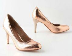 #Anthropologie Crackled Copper Heels pls pls pls I realy need them :)