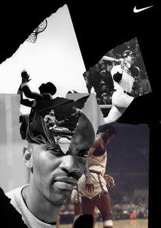 rafael kfouri`s déjà vu Nike Design, Web Design, Sports Graphic Design, Graphic Design Posters, Branding, Nike Poster, Sports Advertising, Photo Action, Collage Design