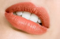 matte coral lip.  Best thing that ever happened to me was finding this lipstick.