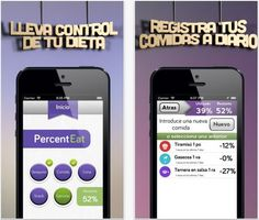 PercentEat, Interesante diario de comidas con porcentajes en lugar de calorías #Android #iOS