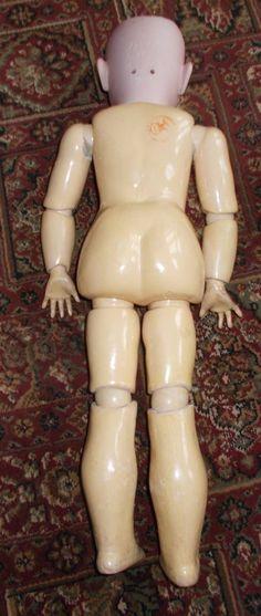 SUPERB LARGE 25 INCH SIMON & HALBIG MOLD 1349 JUTTA WITH BODY STAMP. | eBay