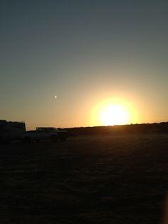 Sunset in Port Aransas