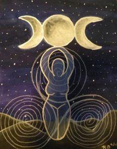 Triple Goddess symbols