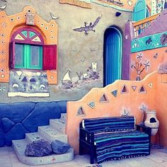 cheerful Nubian house, Aswan
