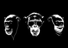 Three wise monkeys - Beckett & Beckett (notonthehighstreet)