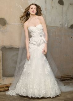 Aurora gown from the 2012 Watters Bridal collection