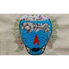 """""""Bergurau Dirumah Sendiri"""" #wip Embroidery"""