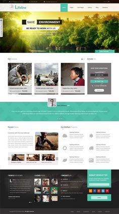 Lifeline NGO Charity Fund Raising WordPress Theme