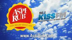 Kiss FM Loves Aspirub - Get rid of your pain