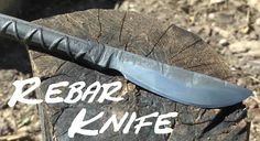 DIY Rebar Knife w Co