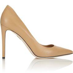 48e596c77 Tamara Melon Rebel 105 Capretto Nude Leather Pumps - Meghan Markle's Shoes