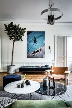 A Stunning Sophisticated Swedish Home
