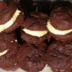 Schoko-Erdnuss-Whoopies, vegan: Cookies & Sonstiges