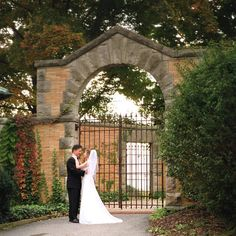 very pretty shot near gate Wedding Photography And Videography, Happily Ever After, Wedding Inspiration, Wedding Ideas, Wedding Pictures, Engagement Photos, This Is Us, Dream Wedding, Valley Forge