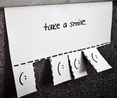 Take a smile. / Prenez un sourire. Take A Smile, Just Smile, Wish Quotes, Smile Quotes, You Are Perfect, Love You, My Love, Black And White Tumblr, Black White