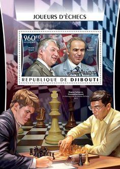 DJB16315b Chess players (Ma Long) Hou Yifan, Ma Long, Garry Kasparov, Magnus Carlsen, Champions Of The World, Chess Players, Champion Sports, Sports Games, Comic Books