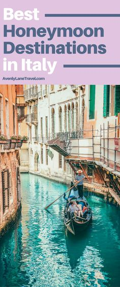 With these 7 most romantic getaways in Italy you are sure to have the trip of a lifetime! Check out the best honeymoon destinations in Italy on Avenlylanetravel.com #italy #honeymoon #travel