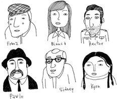Keri Smith's characters