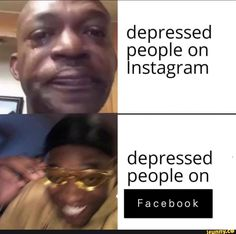 depressed people on Instagram depressed people on – popular memes on the site iFunny.co #instagram #internet #facebook #instagram #depression #depressed #people #pic