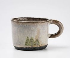 Julia Smith lives in Scotland and makes pots. Throwing and shaping by hand. She is directly inspired by the natural landscape around her.