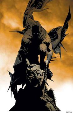 Never known Jim Lee to do anything I don't like to look at. Batman by Jim Lee