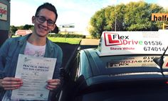 Driving Lessons in Wellingborough:  Congratulations to Adam Chapman who passed his practical Driving Test today, 24th September 2015 and with only 2 driving faults. Very well done and best wishes from your Driving Instructor Steve and all of us here at Flexdrive Driving School.  Adam had driving lessons in Wellingborough with Flexdrive Driving School. #drivinglessons #learntodrive #wellingborough