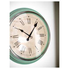 IKEA - SKOVEL Wall clock green