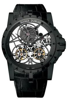 A New Take On Excalibur. A  Watch by Roger Dubuis