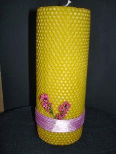 Κέρινες δημιουργίες. Διακοσμημένο κερί. Κερί μέλισσας. http://waxcreations.gr