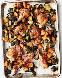 Pork Scallopini, Maple Chicken, Shrimp And Quinoa, Best Side Dishes, Main Dishes, Chicken And Butternut Squash, Mediterranean Recipes, Dinner Recipes, Dinner Ideas