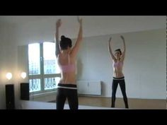 This warm-up for your belly-dance workout (part1) improves the effectiveness of your training and should be done before every training session.     It's also great to get in tune with yourself.