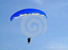 Paraglide from on fethiye oludeniz mountain top