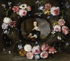 View Porträt mit Blumengirlanden by Gonzales Coques and Jan Peeter Brueghel on artnet. Browse upcoming and past auction lots by Gonzales Coques and Jan Peeter Brueghel. Baroque Painting, Catholic Art, Flower Garlands, Renaissance Art, Beautiful Paintings, Arts And Crafts, Floral, Artist, Flowers