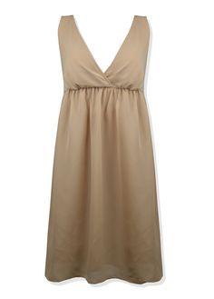 ❤️ Sukienka marki Jeane Blush  ❤️ Rozmiar z metki S (36)  ❤️ Idealna na wesele i do pracy  ❤️ Z tyłu na wysokości biustu wszyta guma  ❤️ Posiada podszewkę  ❤️ Kolor brązowy - orzechowy  ❤️ Wkładana przez głowę nie posiada dodatkowych zamków  ❤️ Z tyłu wiązana  ❤️ Długość całkowita 85cm, Szerokość w biuście 41cm x2, Szerokość pod biustem 36cm x2  #sukienka #brązowa #kopertowa #dress #brown #onlineshop