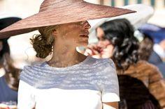 Perfect wedding guest hat. Espectacular Sombrero. #boda #invitada #pamela