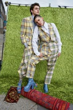 Andreas Kronthaler for Vivienne Westwood AW16/17 Campaign   Vivienne Westwood