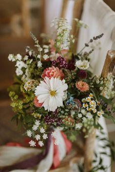 Bride Bouquets, Flower Bouquet Wedding, Floral Wedding, Wedding Colors, Wild Flower Wedding, August Wedding Flowers, Barn Wedding Flowers, Wildflower Wedding Bouquets, August Flowers
